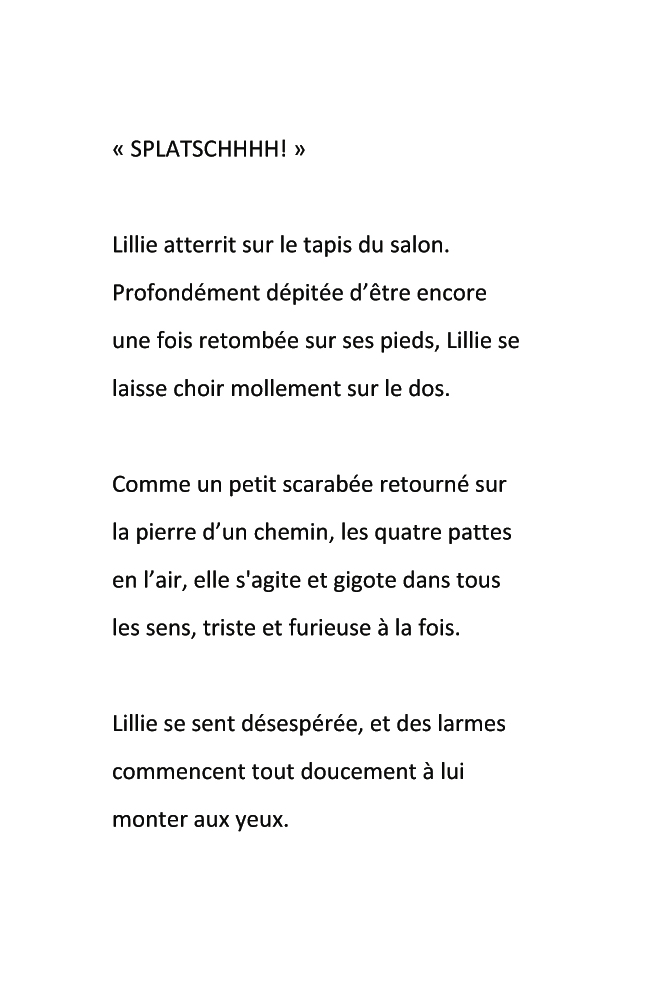 page -texte